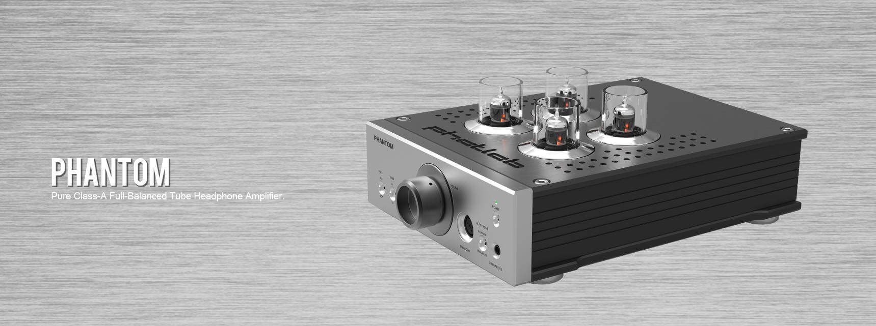 Phatlab Headphone Class A Amplifier Build Fully Balanced Tube From Ground Up